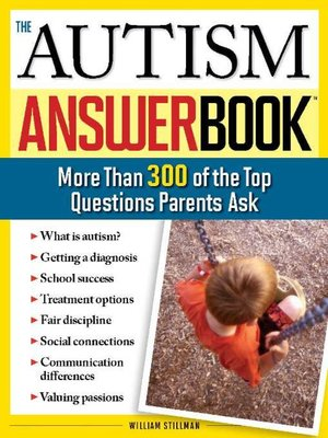 cover image of The Autism Answer Book