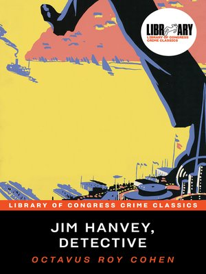 cover image of Jim Hanvey, Detective