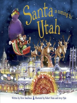 cover image of Santa Is Coming to Utah
