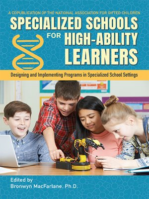 cover image of Specialized Schools for High-Ability Learners