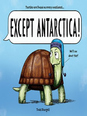 cover image of Except Antarctica