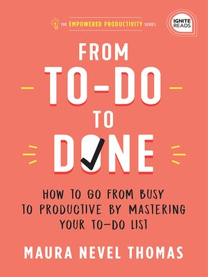 cover image of From To-Do to Done