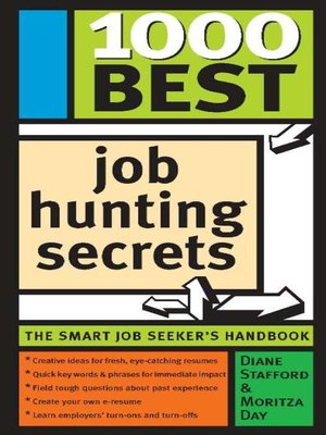 cover image of 1000 Best Job Hunting Secrets