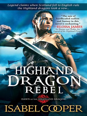 cover image of Highland Dragon Rebel
