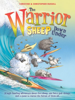 cover image of The Warrior Sheep Down Under