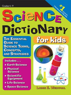 cover image of Science Dictionary for Kids