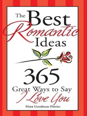 cover image of The Best Romantic Ideas