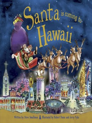 cover image of Santa Is Coming to Hawaii