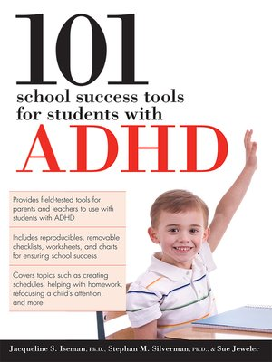 cover image of 101 School Success Tools for Students with ADHD