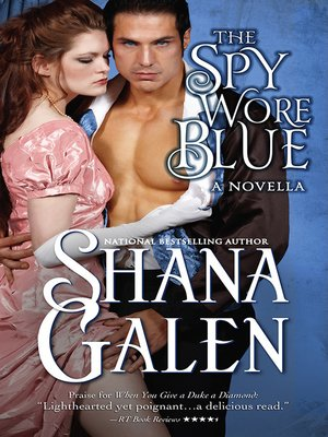 cover image of The Spy Wore Blue