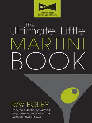 cover image of The Ultimate Little Martini Book