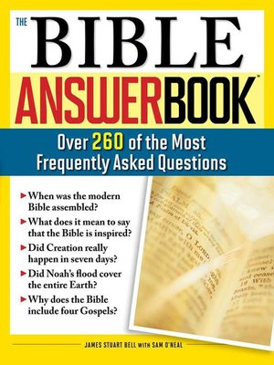 cover image of The Bible Answer Book