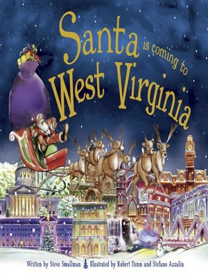 cover image of Santa is Coming to West Virginia