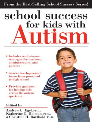 cover image of School Success for Kids with Autism