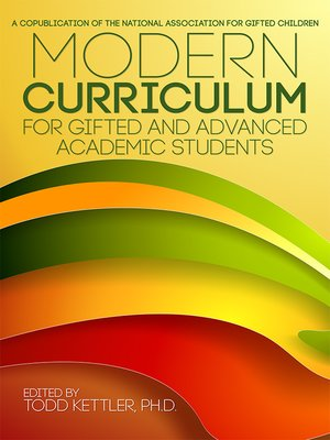 cover image of Modern Curriculum for Gifted and Advanced Academic Students