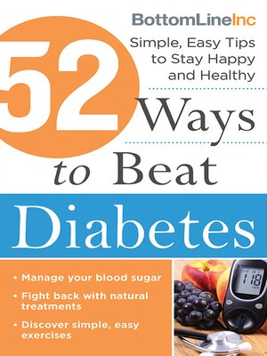 cover image of 52 Ways to Beat Diabetes