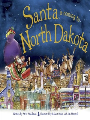 cover image of Santa Is Coming to North Dakota