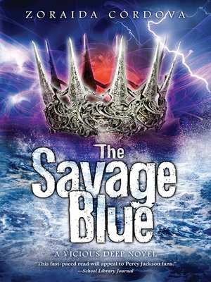 cover image of The Savage Blue