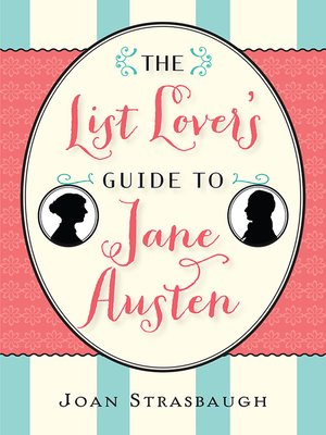 cover image of The List Lover's Guide to Jane Austen