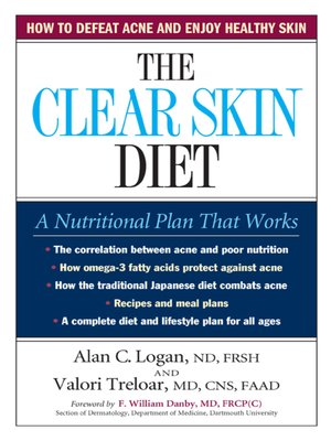 cover image of The Clear Skin Diet