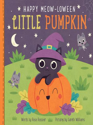 cover image of Happy Meow-loween Little Pumpkin