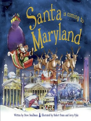 cover image of Santa Is Coming to Maryland