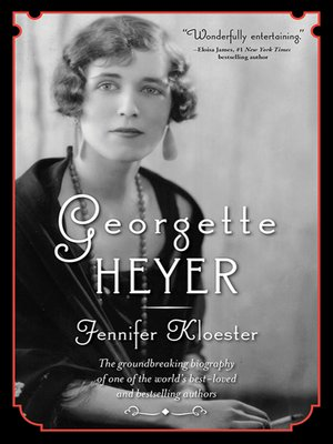 cover image of Georgette Heyer