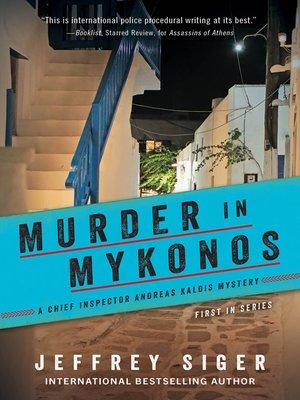 cover image of Murder in Mykonos