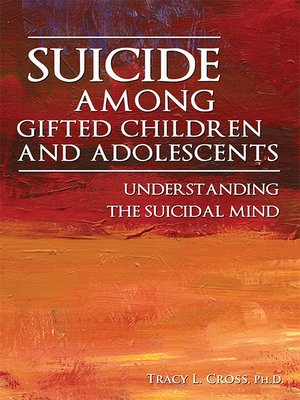 cover image of Suicide Among Gifted Children and Adolescents