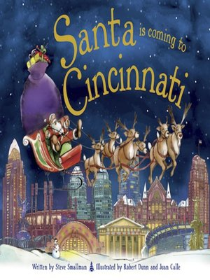 cover image of Santa Is Coming to Cincinnati