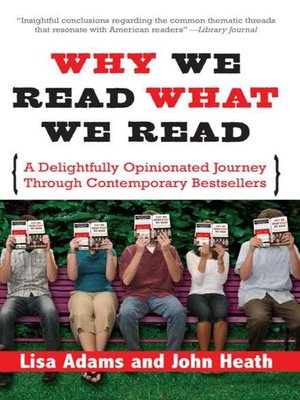 cover image of Why We Read What We Read