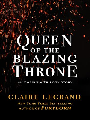cover image of Queen of the Blazing Throne