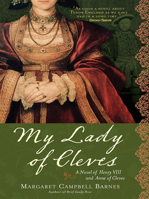 cover image of My Lady of Cleves