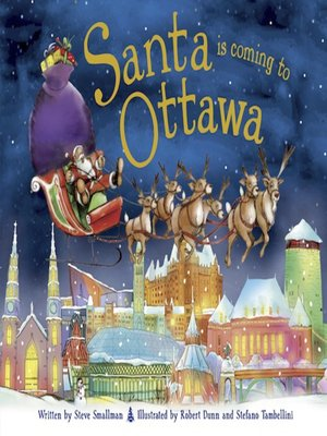 cover image of Santa Is Coming to Ottawa