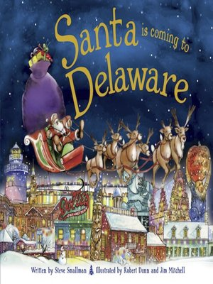 cover image of Santa Is Coming to Delaware