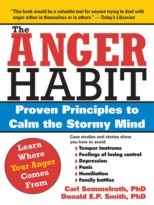 cover image of The Anger Habit