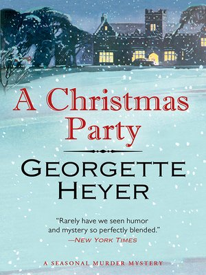cover image of A Christmas Party