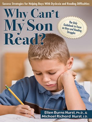 cover image of Why Can't My Son Read?
