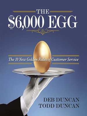 cover image of The $6,000 Egg
