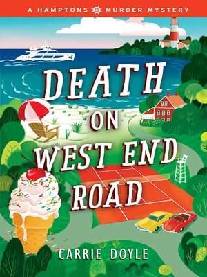 cover image of Death on West End Road