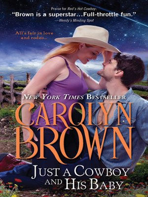 cover image of Just a Cowboy and His Baby