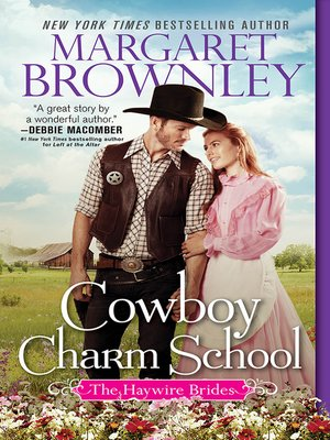 cover image of Cowboy Charm School