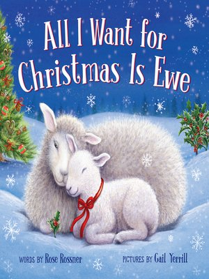 cover image of All I Want for Christmas Is Ewe