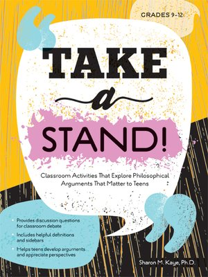 cover image of Take a Stand!