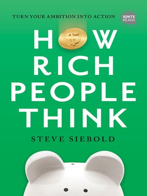 cover image of How Rich People Think