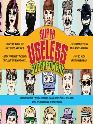 cover image of Superuseless Superpowers