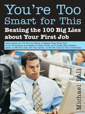 cover image of You're Too Smart for This