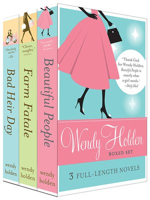 cover image of Wendy Holden Boxed Set