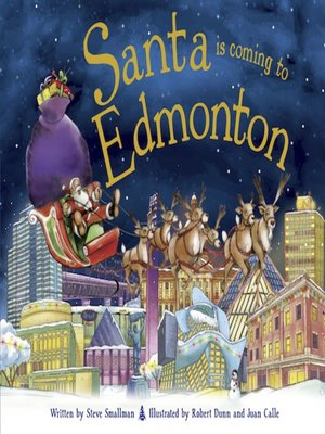 cover image of Santa Is Coming to Edmonton
