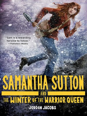 cover image of Samantha Sutton and the Winter of the Warrior Queen